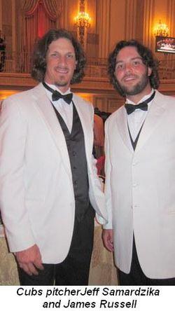 Blog 6 - Cubs pitcher Jeff Samardzika and James Russell