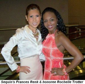 Blog 5 - Sequin's Frances Renk with honoree Rochelle Trotter