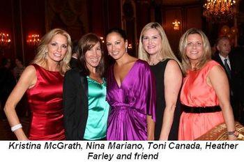 Blog 2 - Kristina McGrath, Nina Mariano, Toni Canada, Heather Farley and friend