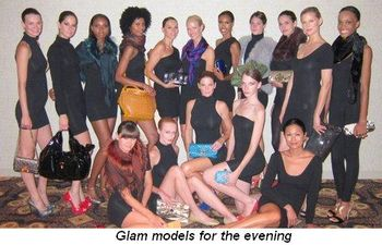 Blog 3 - Glam models for the evening