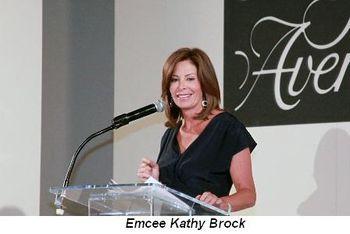 Blog 6 - Emcee Kathy Brock