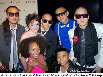 Blog 1 - Alisha Van Fosson and Far East Movement with Sharlese and Bailey