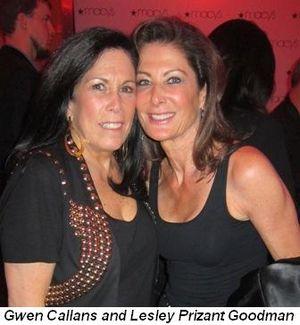 Blog 8 - Gwen Callans and Lesley Prizant Goodman