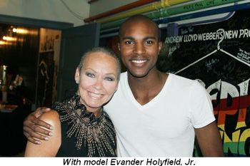 Blog 18 - With model Evander Holyfield, Jr