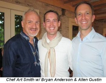 Blog 7 - Chef Art Smith with Bryan Anderson and Allen Gustin