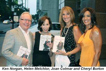 Blog 9 - Ken Norgan, Helen Melchior, Joan Colmar and Cheryl Burton