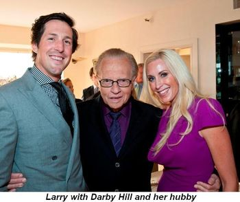 Blog 11 - Darby Hill with hubby and Larry