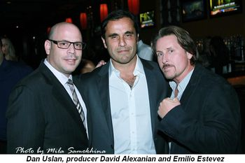 Blog 3 - Dan Uslan, producer David Alexanian and Emilio Estevez