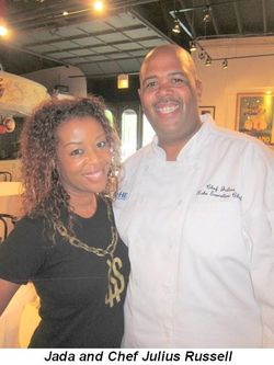 Blog 4 - Jada and Chef Julius Russell