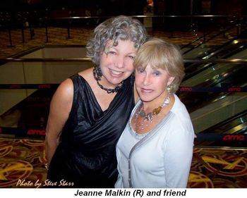 Jeanne Malkin (R) and friend