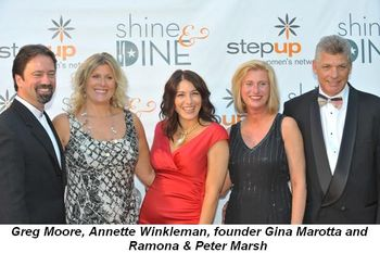 Blog 2 - Greg Moore, Annette Winkleman, founder Gina Marotta, Ramona and Peter Marsh
