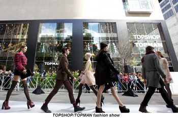 Blog 3 - TOPSHOP TOPMAN fashion show