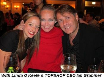 Blog 6 - With Linda O'Keefe and TOPSHOP CEO Ian Grabiner