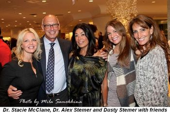 Blog 3 - Dr. Stacie McClane, Dr. Alex Stemer and Dusty with friends