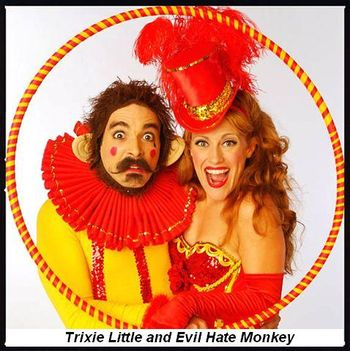 Blog 3 - Trixie Little and Evil Hate Monkey