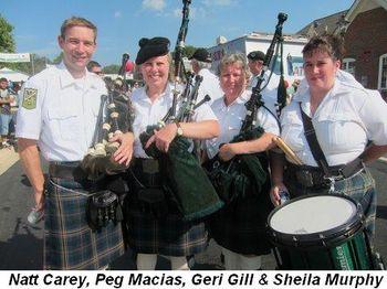 Blog 8 - Natt Carey, Peg Macias, Geri Gill and Sheila Murphy