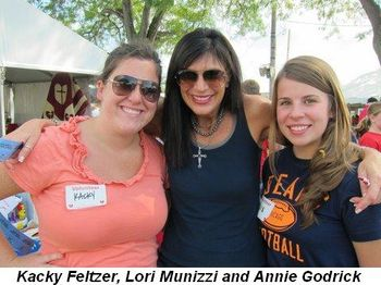 Blog 12 - Kacky Feltzer, Lori Munizzi and Annie Goldrick