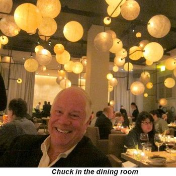 Blog 2 - Chuck in the dining room