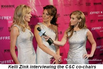 Blog 1 - Kelli Zink interviewing co-chairs