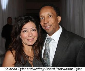 Blog 10 - Yolanda and Joffrey Board Prez Jason Tyler