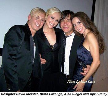 Blog 12 - Designer David Meister, Britta Lazenga, April Daley and Alan Siegel