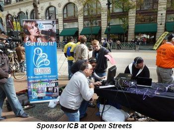 Blog 3 - Sponsor ICB at Open Streets