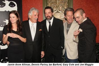 Blog 1 - Jamie Anne Allman, Dennis Farina, Ian Barford, Gary Cole, Joe Maggio