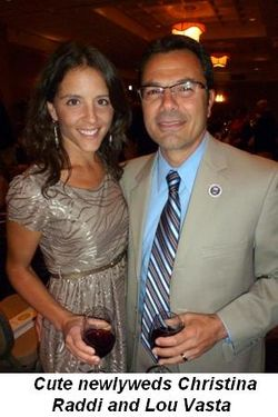 Blog 13 - Cute newlyweds Christina Raddi and Lou Vasta