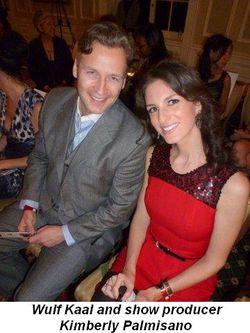 Blog 2 - Wulf Kaal and show producer Kimberly Palmisano