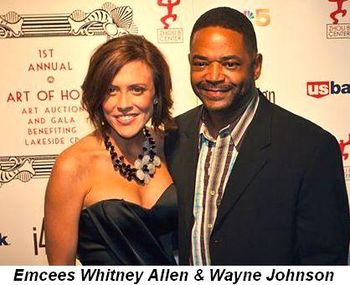Blog 3 - Emcees Whitney Allen and Wayne Johnson