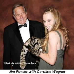 Blog 10 - Jim Fowler with Caroline Wegner