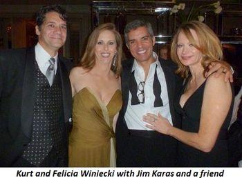 Blog 9 - Kurt and Felicia Winiecki, Jim Karas and friend