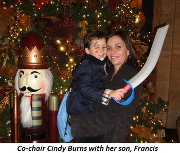 Blog 4 - Co-chair Cindy Burns with son Francis