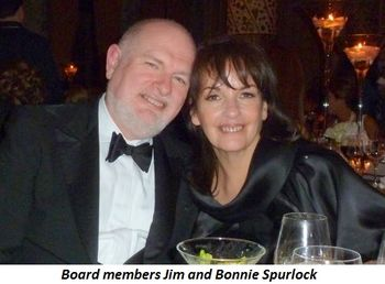 Blog 5 - Board members Jim and Bonnie Spurlock