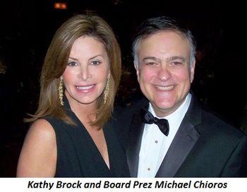 Blog 1 - Kathy Brock and Board Prez Michael Chioros