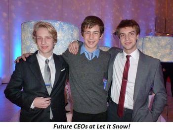 Blog 5 - Future CEOs at Let it Snow!