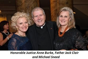 Blog 3 - Honorable Justice Anne Burke, Fr. Jack Clair and Michael Sneed