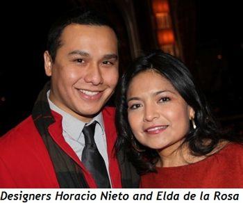 Blog 4 - Designers Horacio Nieto and Eldade la Rosa