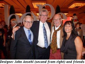Blog 10 - Designer John Ansehl (2nd from R)and friends