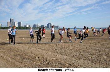 Blog 6 - Beach chariots, yikes!