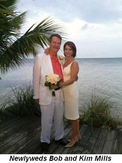 Newlyweds Bob and Kim Mills