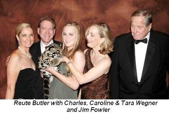 Blog 1 - Reute, Charles, Caroline and Tara Wegner and Jim Fowler
