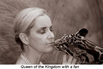 Blog 8 - Queen of the Kingdom with a fan