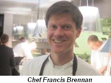 Chef Francis Brennan