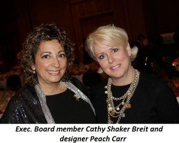 Blog 2 - Exec. Board member Cathy Shaker Breit and designer Peach Carr