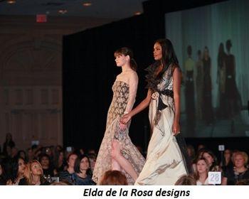 Blog 9 - Elda de la Rosa's segment in fashion show