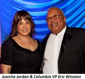 Blog 2 - Juanita Jordan and Columbia College VP Eric Winston