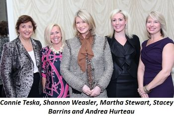 Blog 1 - Connie Teska, Shannon Weasler, Martha Stewart, Stacey Barrins, Andrea Hurteau