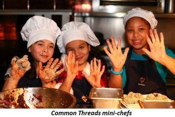 Blog 6 - Common Threads mini-chefs