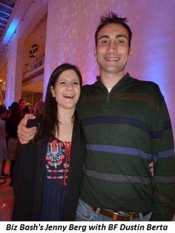 Blog 8 - Biz Bash's Jenny Berg and BF Dustin Berta